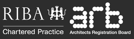 Registered as RIBA chartered practice and ARB architects registration board