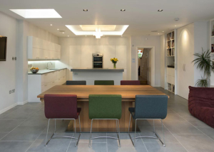 Architect designed extension and refurbishment Edwardian home