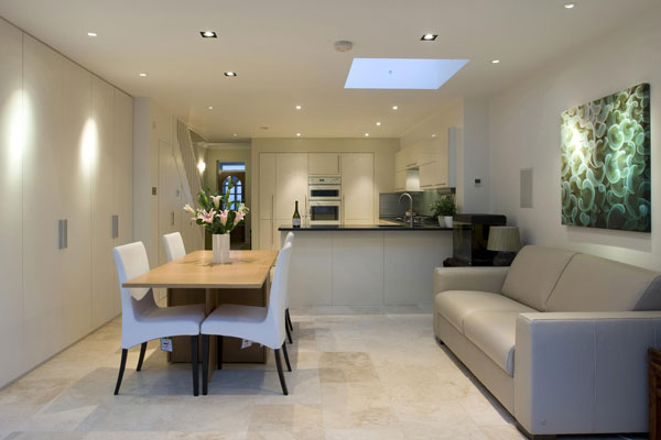 Architect designed Terraced house extension and refurbishment