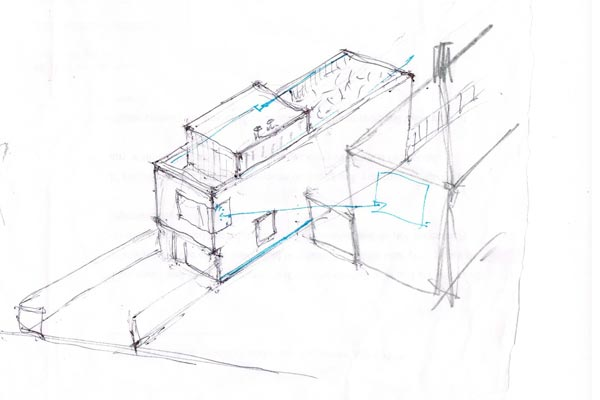 Chessington architect sketch