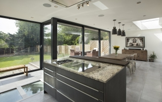 modern house extension architect design copse hill Rayners park sw20 Wimbledon sw19