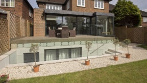 modern house extension architect design planning approval copse hill Rayners park sw20 Wimbledon sw19