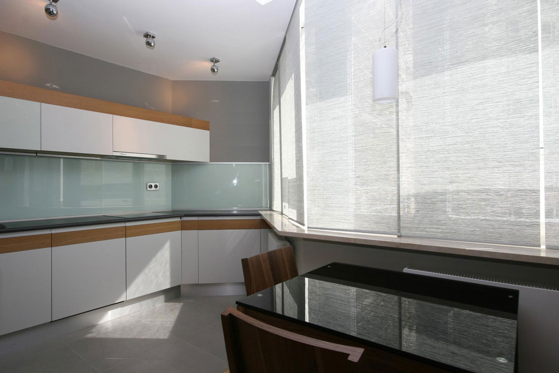 modern flat interiors kitchen design architect full service planning approval